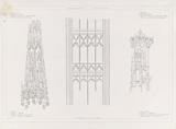 Architectural details in the St John's Cathedral in Den Bosch