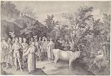 Balaam meets King Balak