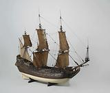 Ship's model of the Prins Willem