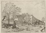 Farm with barn and well