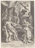 Venus Honored by Nymphs and a Faun