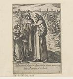 Saint Philip converts two prostitutes to chastity