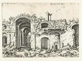 Third view of the Baths of Diocletian
