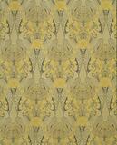 Curtain fabric 'Peacock and honeysuckle'