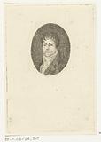 Portrait of J Gazel, in oval