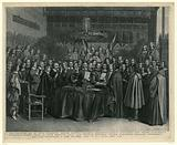 The swearing in of the Peace of Munster, 1648