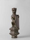 Ape-like Creature Supporting an Escutcheon, From the Top of a Balustrade or the Backrest of the Stadtholder's Chair in …