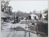 Station Smalspoor Deli Maatschappij in Stabat on Sumatra