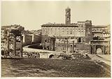 View of the Forum Romanum in Rome