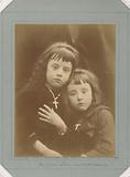Portrait of Laura and Rachel Gurney