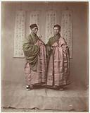 Portrait of Two Chinese Buddhist Monks