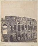 View of the Colosseum in Rome