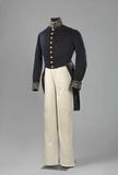 Official costume of JR Thorbecke as Secretary of the Interior