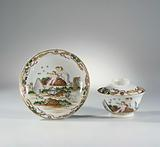 Dish, cup and saucer