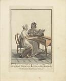 Young Lady Playing the Square Piano