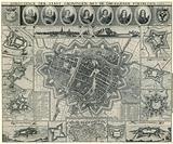 Map of Groningen, 1672