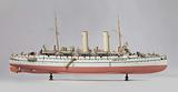 Model of the protected cruiser Noord-Brabant