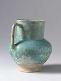 Ovoid pitcher with a wide neck