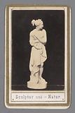 Carte-de-visite with Canova's Venus Italica