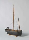 Model of a French Lugger
