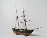Model of the schooner Banka