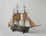 Model of a Merchant Frigate