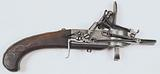 Gun tinder box with flintlock