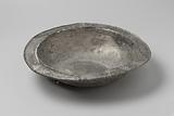 Pewter plate from the wreck of the East Indiaman Hollandia