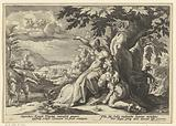 Clymene assigns Phaethon his father, the sun god