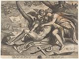 Venus mourns the death of Adonis