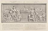 Allegorical sculpture on the Belgian Revolution, 1830