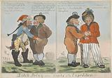 Friendship of the Dutchman with the Frenchman and the Briton, 1799