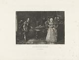 Alva visits the Governor-General Margaret of Parma, 1567