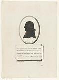 Portrait in silhouette of Pastor Ewald Kist