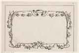 Picture frame with flowers and wreaths