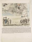 Cartoon on the fall of Beurnonville, French War Minister, 1793