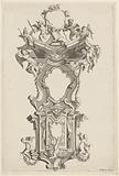 Pulpit with dove of the Holy Spirit and putti