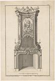 Design for a chimney with Victoria