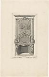 Design for a chimney depicting a sacrifice