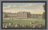 View of Kensington Palace in London