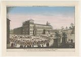 View of the Palazzo del Quirinale in Rome