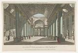 View of a gallery with sepulchral images