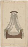 Four poster bed with quivers