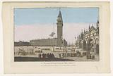 View of the San Marco Square in Venice