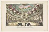 View of a concert hall in Venice