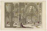 View of the interior of the Church of St John Lateran in Rome