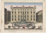 View of the Palazzo Senatorio in Palermo