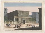 View of the Palazzo Doria-Tursi in Genoa