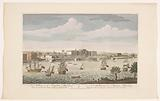 View of Fort William at Calcutta