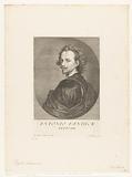 Portrait of artist Anthony van Dyck